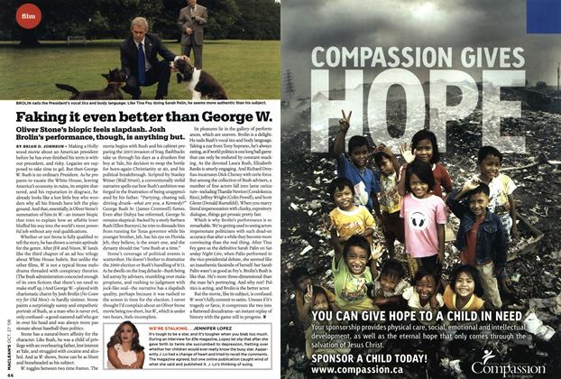 Article Preview: Faking it even better than George W., OCT. 27th 2008 2008 | Maclean's