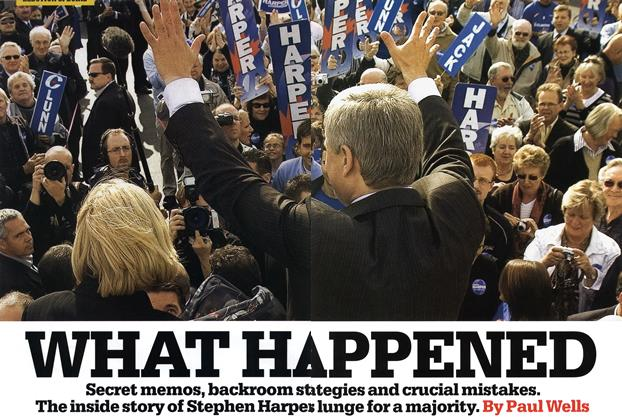 Article Preview: WHAT HAPPEND, OCT. 27th 2008 2008 | Maclean's