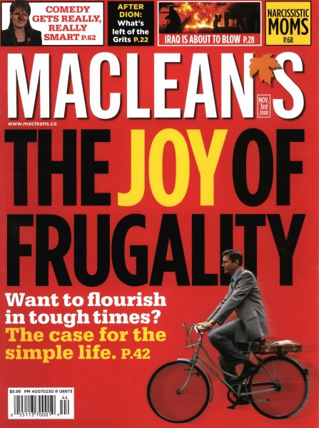 Issue: - NOV. 3rd 2008 | Maclean's
