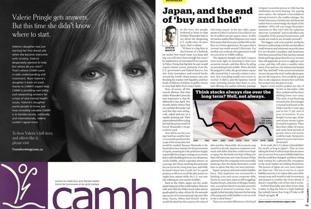 Article Preview: Japan, and the end of 'buy and hold', NOV. 3rd 2008 2008 | Maclean's