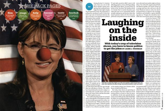 Article Preview: Laughing on the inside, NOV. 3rd 2008 2008 | Maclean's