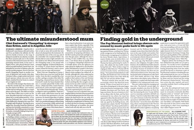 Article Preview: The ultimate misunderstood mum, NOV. 3rd 2008 2008 | Maclean's