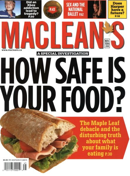Issue: - NOV. 10th 2008 | Maclean's