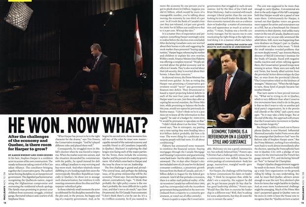 Article Preview: HE WON. NOW WHAT?, NOV. 10th 2008 2008 | Maclean's