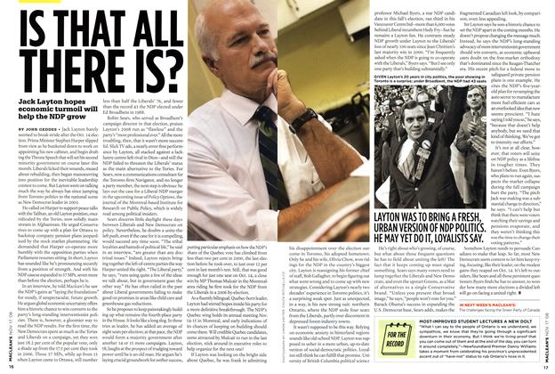 Article Preview: IS THAT ALL THERE IS?, NOV. 17th 2008 2008 | Maclean's