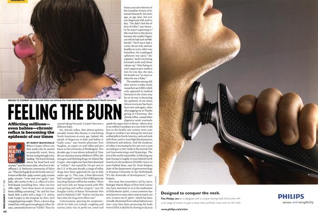 Article Preview: FEELING THE BURN, NOV. 17th 2008 2008 | Maclean's