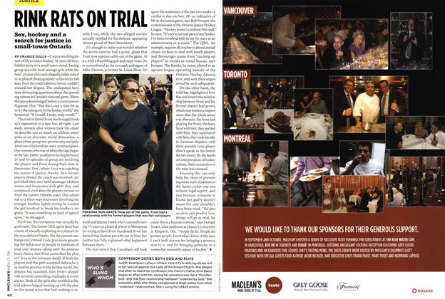 Article Preview: RINK RATS ON TRIAL, NOV. 17th 2008 2008 | Maclean's