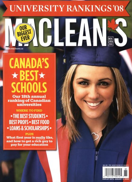 Issue: - NOV. 24th 2008 | Maclean's