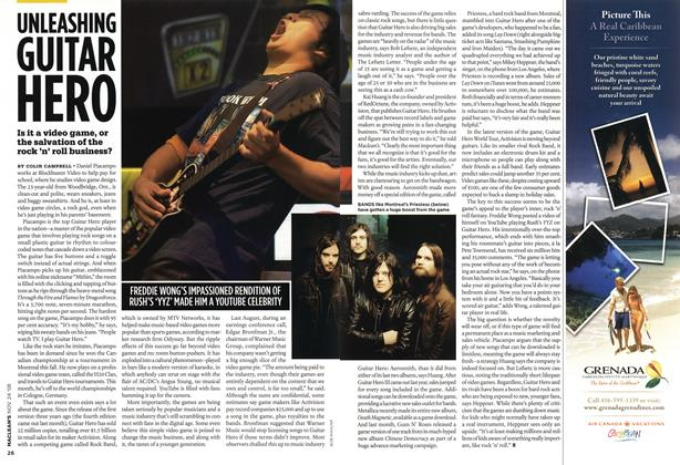 Article Preview: UNLEASHING GUITAR HERO, NOV. 24th 2008 2008 | Maclean's