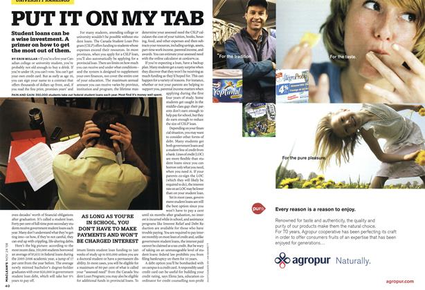 Article Preview: PUT IT ON MY TAB, NOV. 24th 2008 2008 | Maclean's