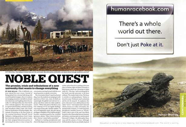 Article Preview: NOBLE QUEST, NOV. 24th 2008 2008 | Maclean's