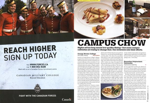 Article Preview: CAMPUS CHOW, NOV. 24th 2008 2008 | Maclean's