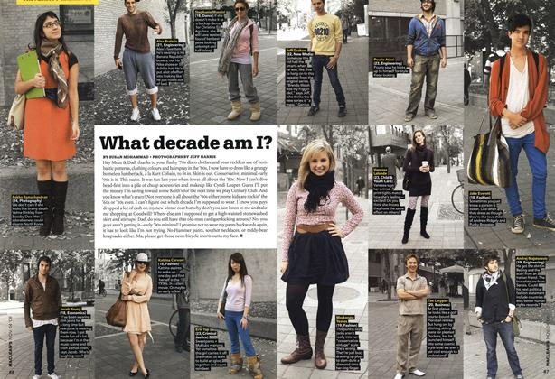 Article Preview: What decade am I?, NOV. 24th 2008 2008 | Maclean's