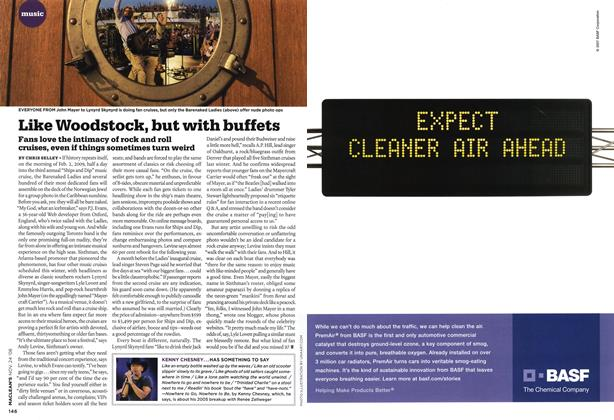 Article Preview: Like Woodstock, but with buffets, NOV. 24th 2008 2008 | Maclean's