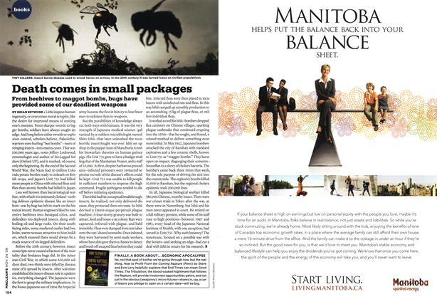 Article Preview: Death comes in small packages, NOV. 24th 2008 2008 | Maclean's