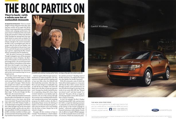 Article Preview: THE BLOC PARTIES ON, DEC. 1st 2008 2008 | Maclean's