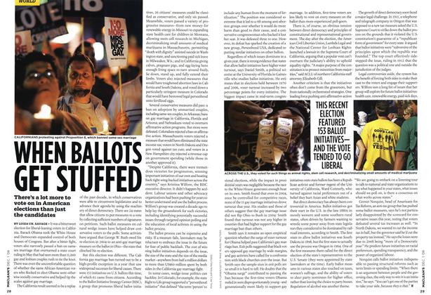 Article Preview: WHEN BALLOTS GET STUFFED, DEC. 1st 2008 2008 | Maclean's