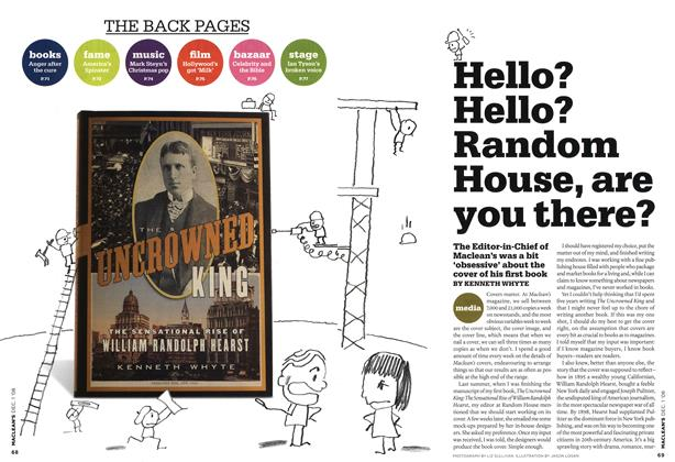 Article Preview: Hello? Hello? Random House, are you there?, DEC. 1st 2008 2008 | Maclean's