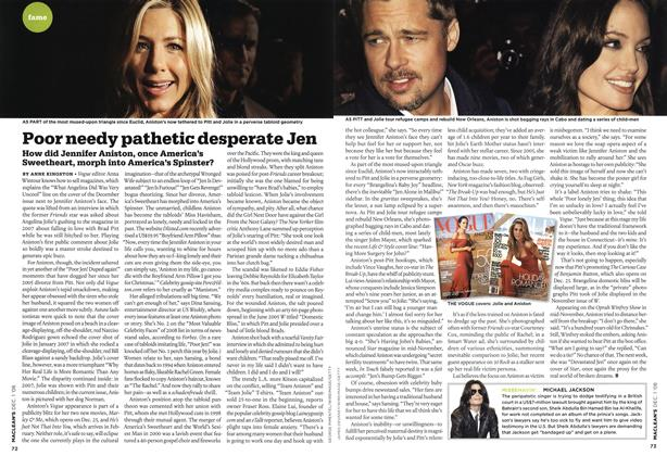 Article Preview: Poor needy pathetic desperate Jen, DEC. 1st 2008 2008 | Maclean's