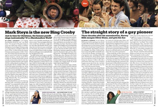 Article Preview: Mark Steyn is the new Bing Crosby, DEC. 1st 2008 2008 | Maclean's