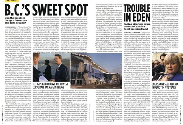 Article Preview: TROUBLE IN EDEN, DEC. 8th 2008 2008 | Maclean's