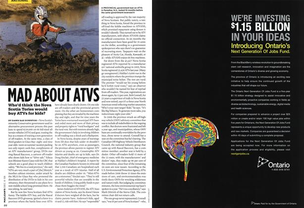 Article Preview: MAD ABOUT ATVS, DEC. 8th 2008 2008 | Maclean's