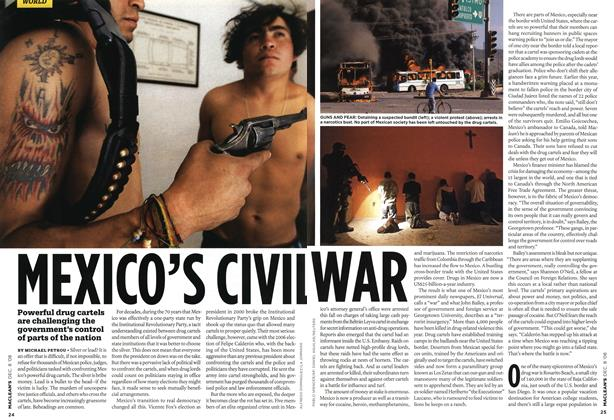 Article Preview: MEXICO'S CIVIL WAR, DEC. 8th 2008 2008 | Maclean's