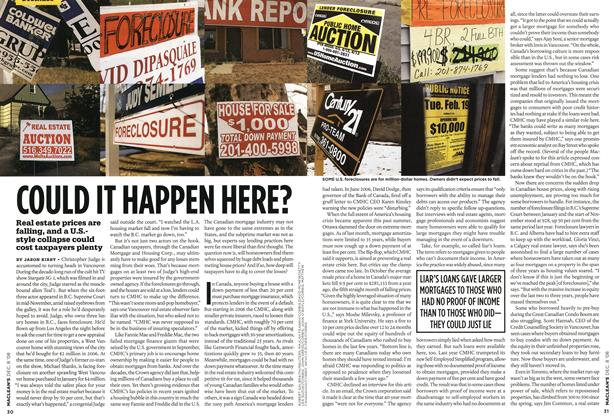 Article Preview: COULD IT HAPPEN HERE?, DEC. 8th 2008 2008 | Maclean's