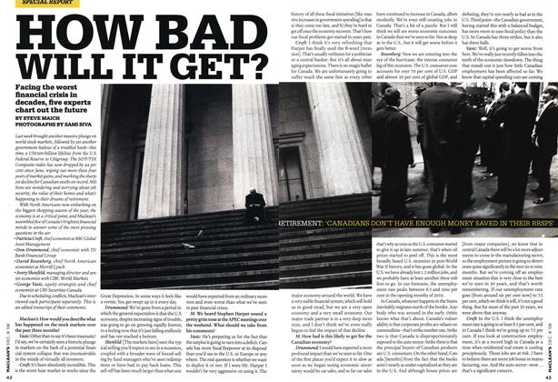 Article Preview: HOW BAD WILL IT GET?, DEC. 8th 2008 2008 | Maclean's