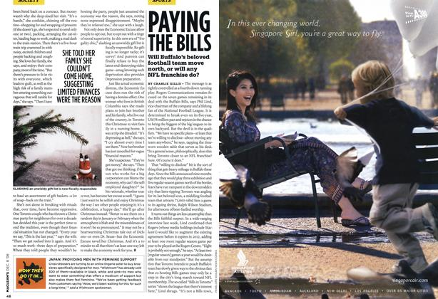 Article Preview: PAYING THE BILLS, DEC. 8th 2008 2008 | Maclean's