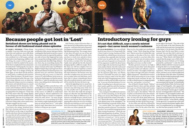 Article Preview: Because people got lost in 'Lost', DEC. 8th 2008 2008 | Maclean's