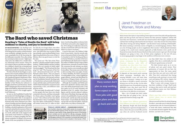 Article Preview: The Bard who saved Christmas, DEC. 8th 2008 2008 | Maclean's