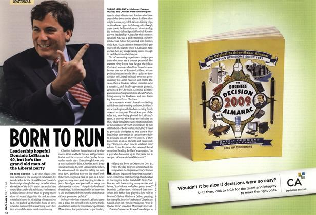 Article Preview: BORN TO RUN, DEC. 15th 2008 2008 | Maclean's