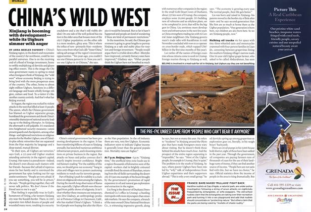 Article Preview: CHINA'S WILD WEST, DEC. 15th 2008 2008 | Maclean's