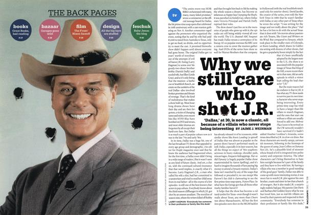 Article Preview: Why we still care who shot J.R., DEC. 15th 2008 2008 | Maclean's