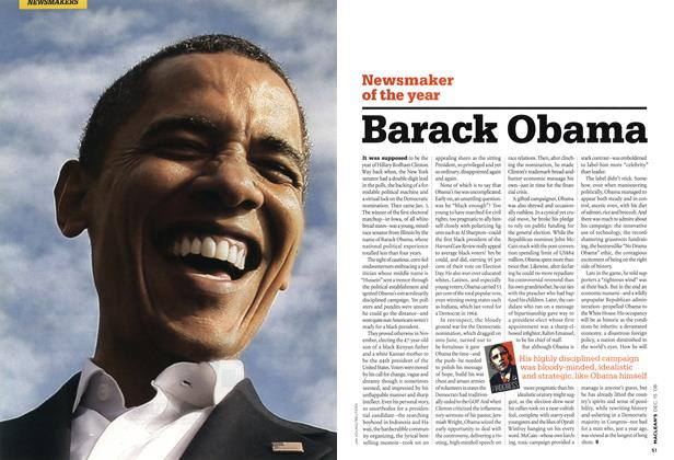 Article Preview: Barack Obama, DEC. 15th 2008 2008 | Maclean's