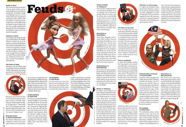 Article Preview: Feuds, DEC. 15th 2008 2008 | Maclean's