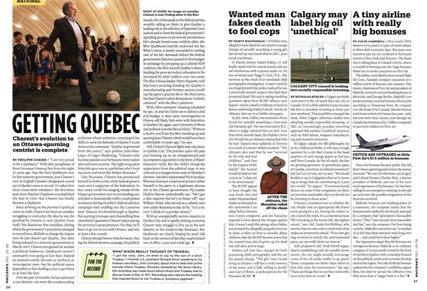 Article Preview: A tiny airline with really big bonuses, DEC. 29th 2008 2008 | Maclean's