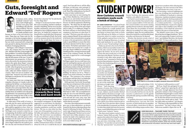 Article Preview: STUDENT POWER!, DEC. 29th 2008 2008 | Maclean's