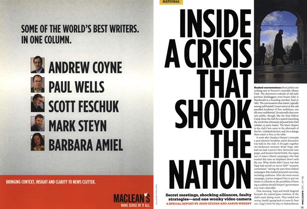 Article Preview: INSIDE A CRISIS THAT SHOOK THE NATION, DEC. 29th 2008 2008 | Maclean's
