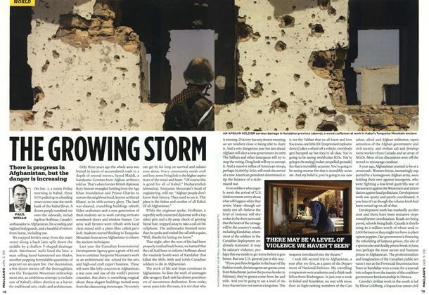 Article Preview: THE GROWING STORM, January 2009 | Maclean's