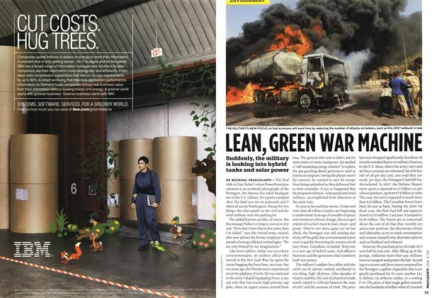 Article Preview: LEAN,GREEN WAR MACHINE, January 2009 | Maclean's