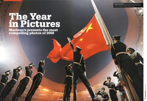 Article Preview: The Year in Pictures, January 2009 | Maclean's