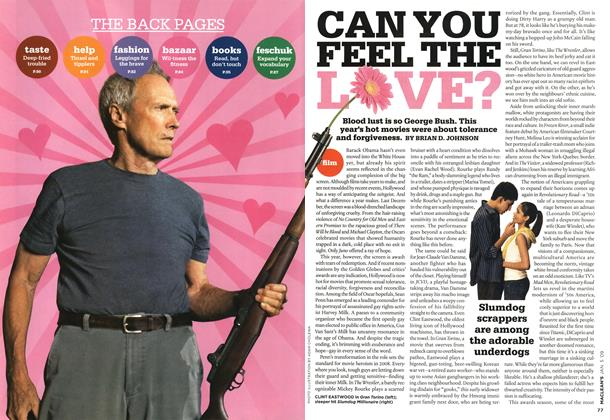 Article Preview: CAN YOU FEEL THE LOVE?, January 2009 | Maclean's