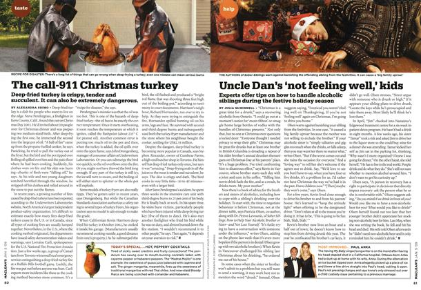Article Preview: The call-911 Christmas turkey, January 2009 | Maclean's