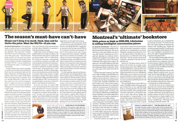 Article Preview: The season's must-have can't-have, January 2009 | Maclean's