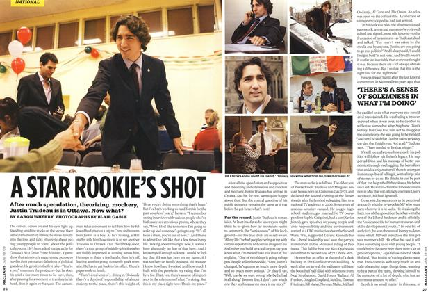 Article Preview: A STAR ROOKIE'S SHOT, JAN. 19th 2009 2009 | Maclean's