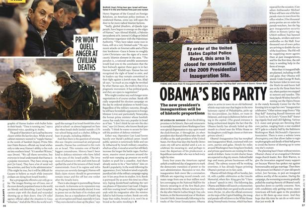 Article Preview: OBAMA'S BIG PARTY, JAN. 19th 2009 2009 | Maclean's
