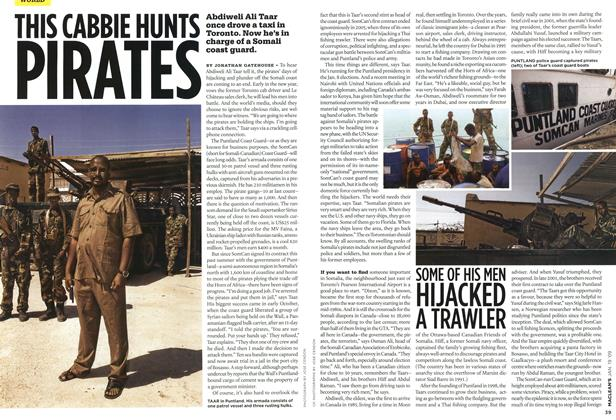 Article Preview: THIS CABBIE HUNTS PIRATES, JAN. 19th 2009 2009 | Maclean's