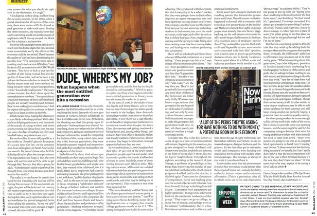 Article Preview: DUDE, WHERE'S MY JOB?, JAN. 19th 2009 2009 | Maclean's